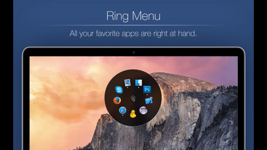 Ring Menu for Mac - review, screenshots
