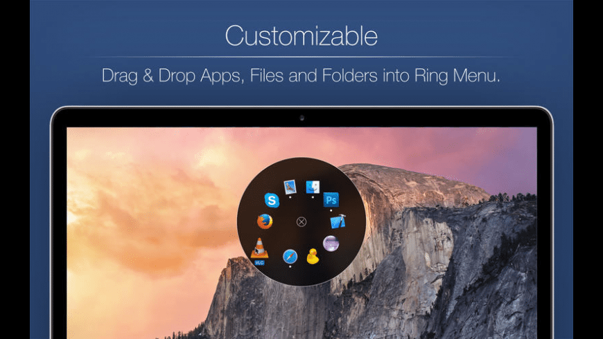 Ring Menu for Mac - review, screenshots