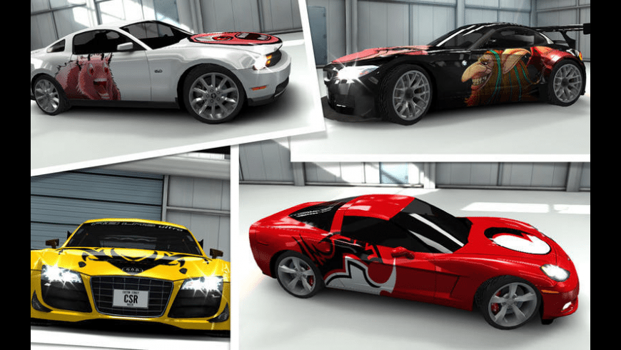 CSR Racing for Mac - review, screenshots