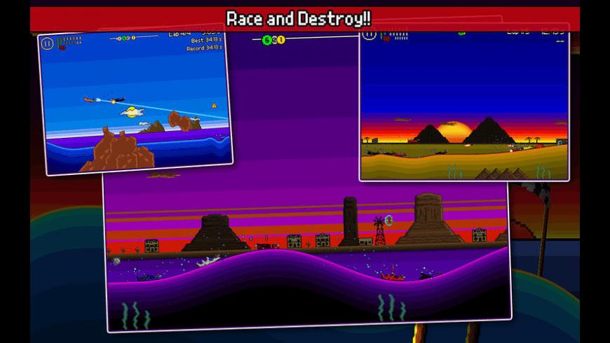 Pixel Boat Rush for Mac - review, screenshots