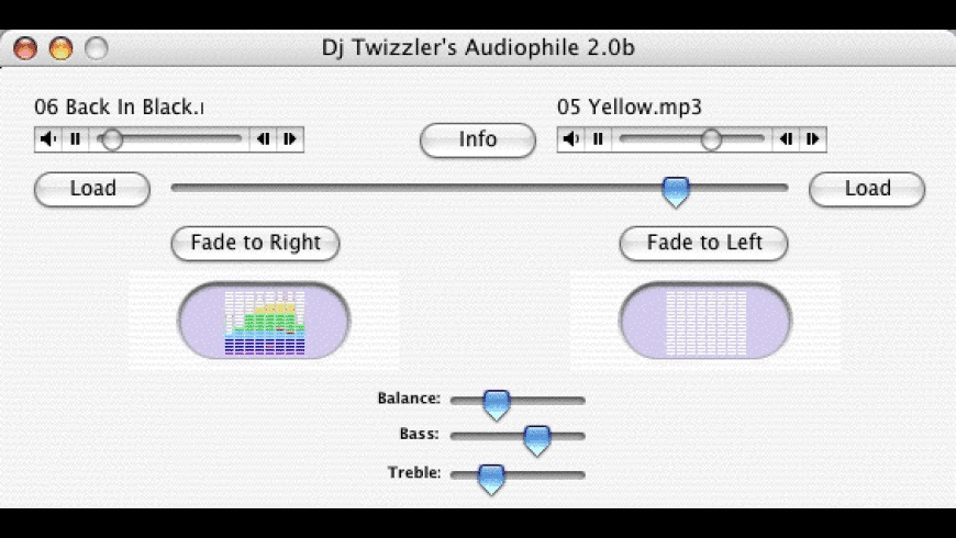 Audiophile for Mac - review, screenshots