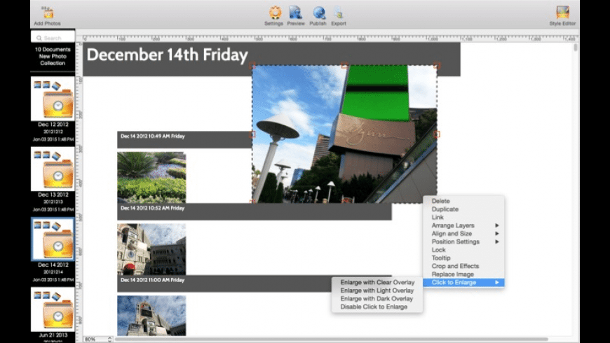 My Photos Over Time for Mac - review, screenshots