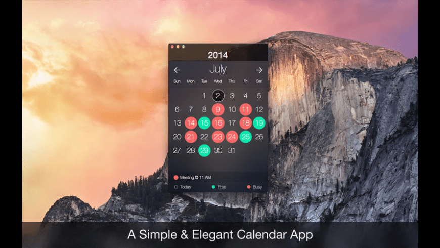 My Days Lite for Mac - review, screenshots