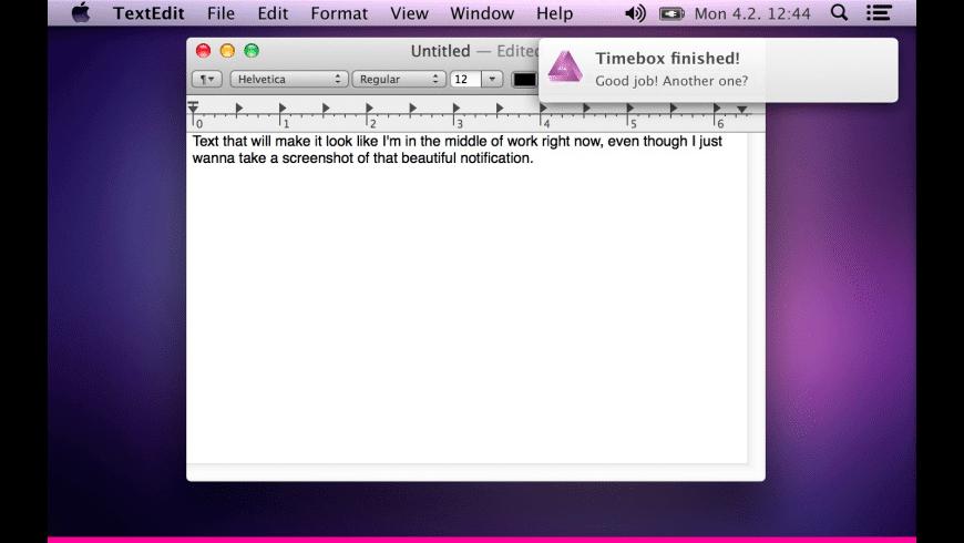 Zonebox for Mac - review, screenshots