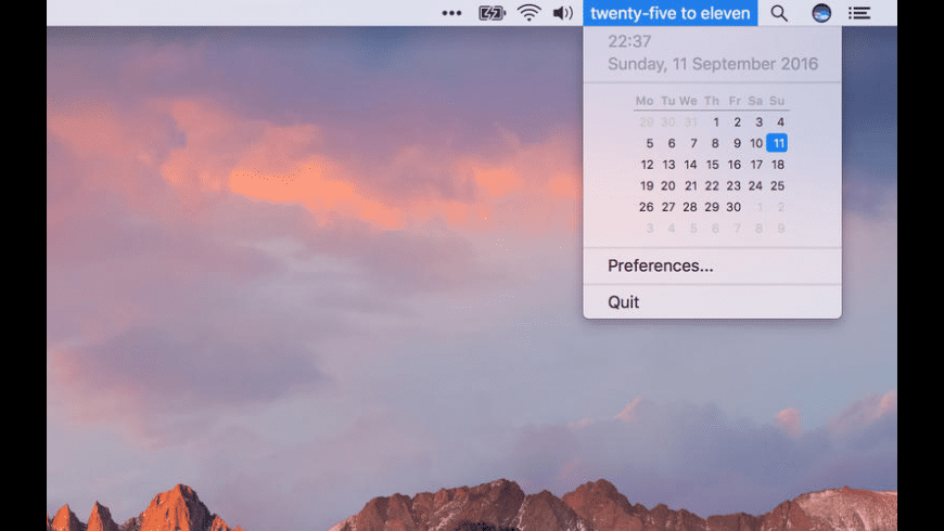 FuzzyTime for Mac - review, screenshots