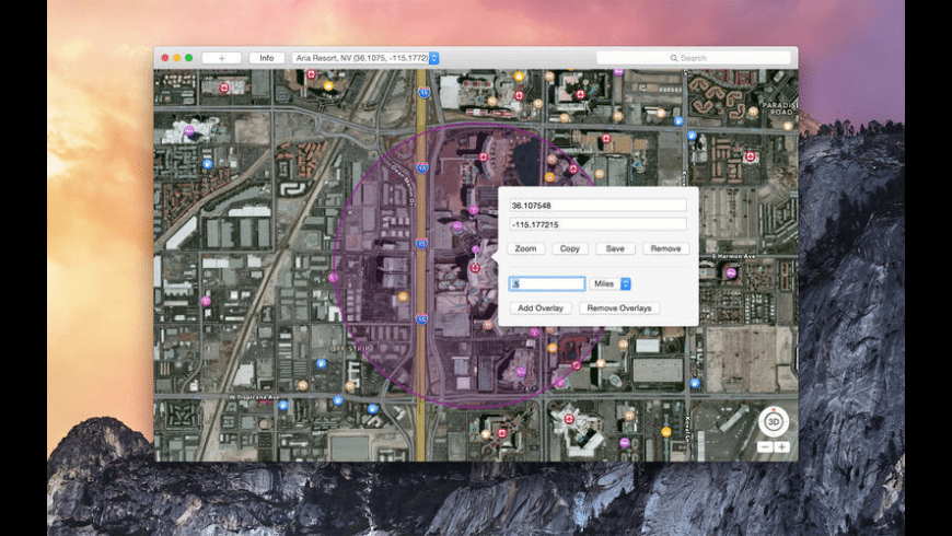 Coords for Mac - review, screenshots