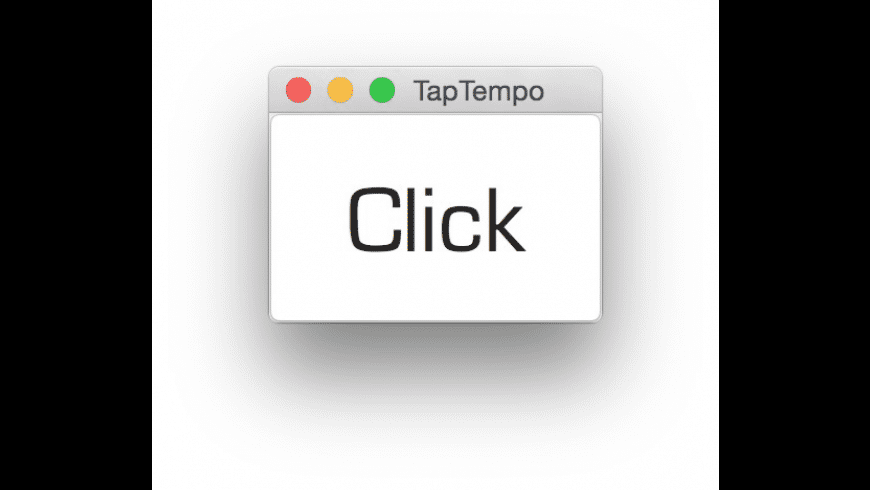 TapTempo for Mac - review, screenshots