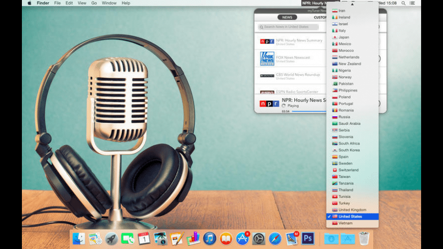 myTuner News Pro for Mac - review, screenshots