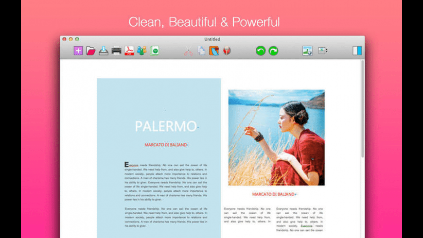 iWord for Mac - review, screenshots