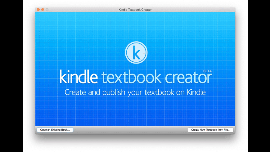 Kindle Textbook Creator for Mac - review, screenshots