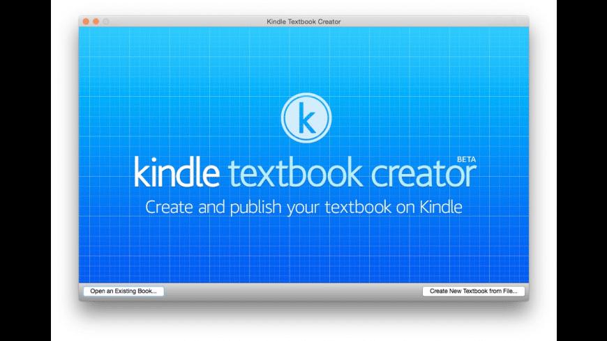 Kindle Textbook Creator for Mac - review, screenshots