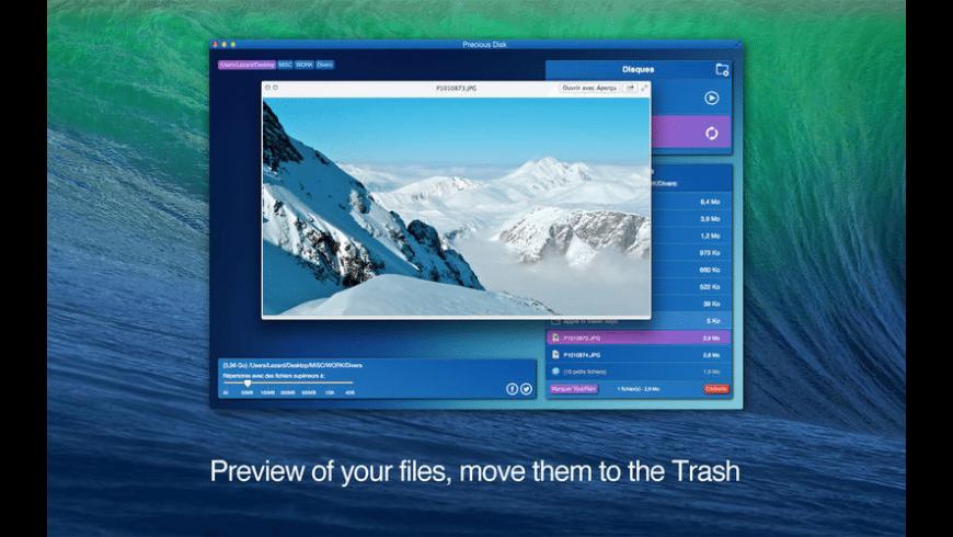Precious Disk for Mac - review, screenshots