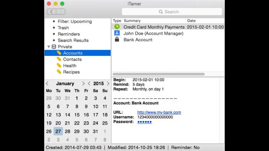 iTamer for Mac - review, screenshots