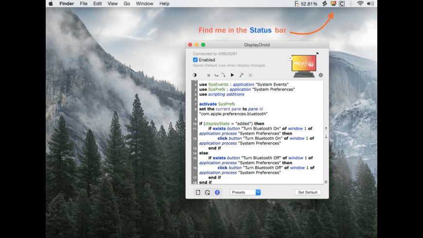 DisplayDroid for Mac - review, screenshots