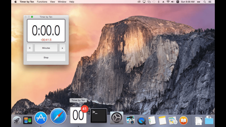 Timer by Ten for Mac - review, screenshots
