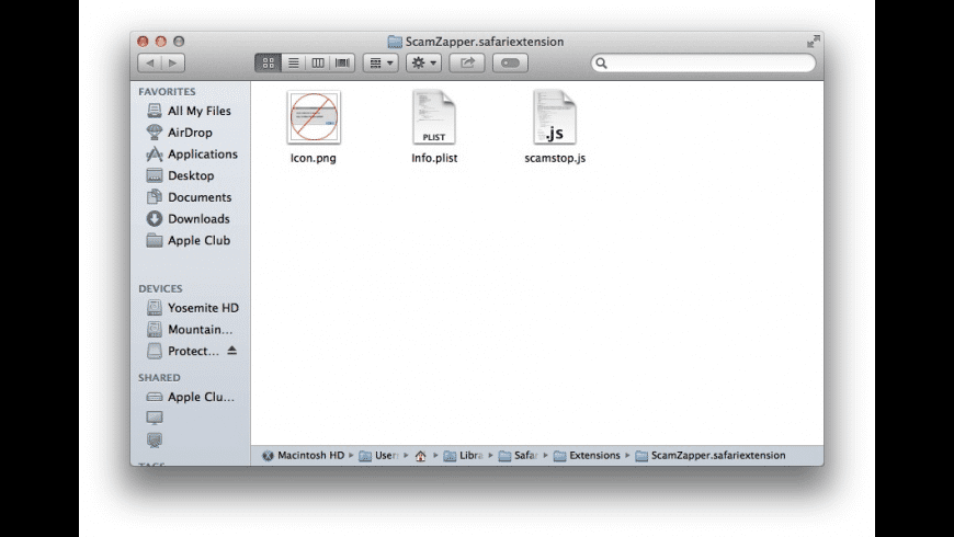 Extension Unpacker for Mac - review, screenshots