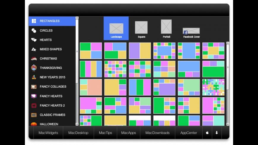 piZap for Mac - review, screenshots