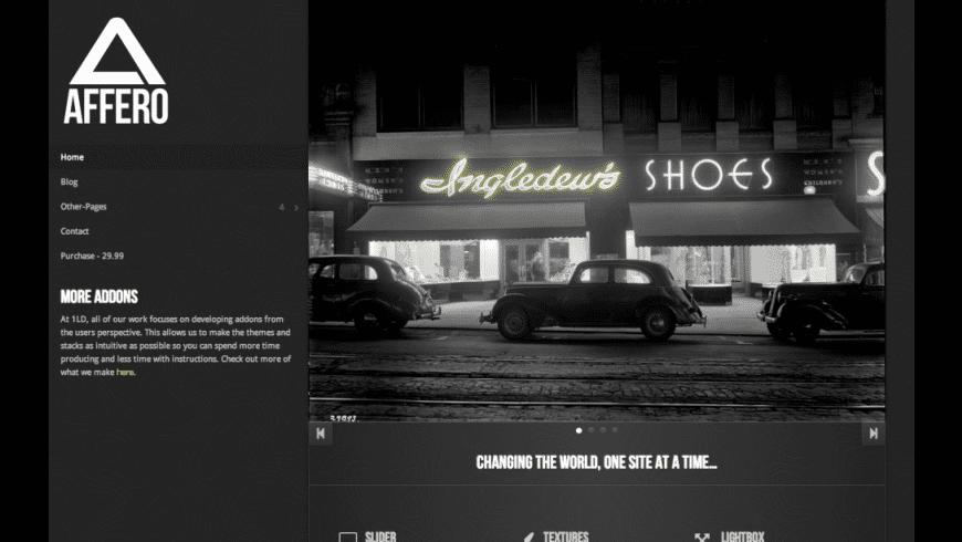 Affero 2 for Mac - review, screenshots