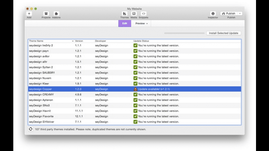 Waterfall for Mac - review, screenshots