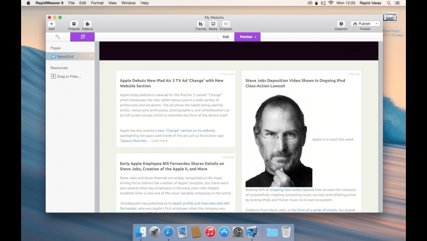 News Grid for Mac - review, screenshots