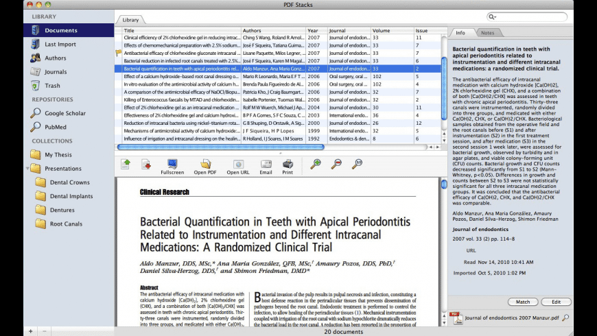 PDF Stacks for Mac - review, screenshots