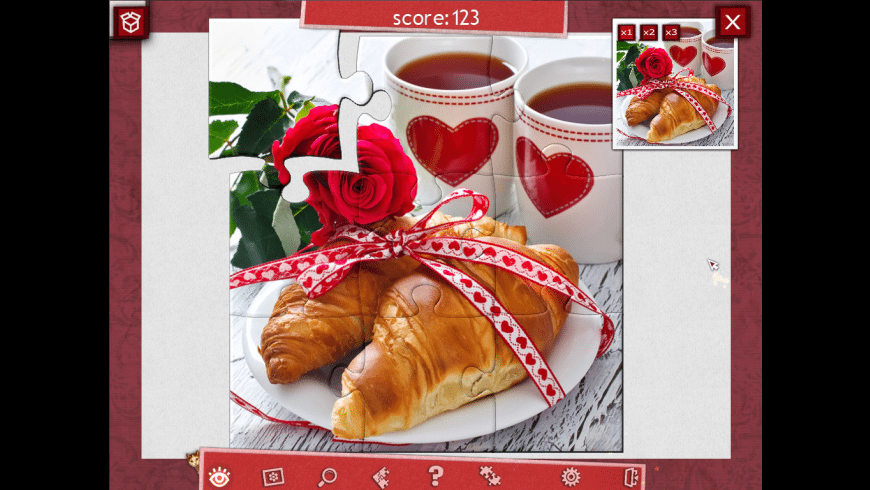 Holiday Jigsaw Valentine's Day for Mac - review, screenshots
