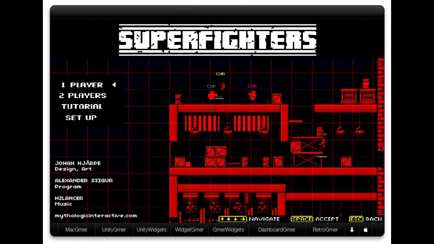 Superfighters for Mac - review, screenshots