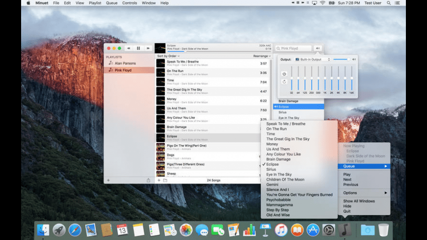 Minuet for Mac - review, screenshots