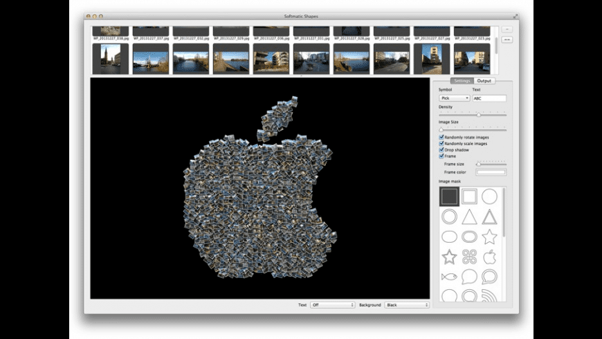 Softmatic Shapes for Mac - review, screenshots