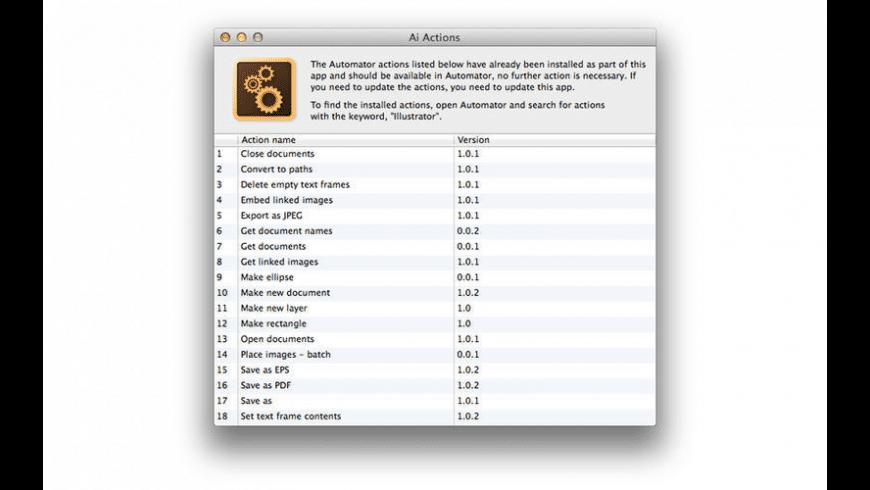 Ai Actions for Mac - review, screenshots