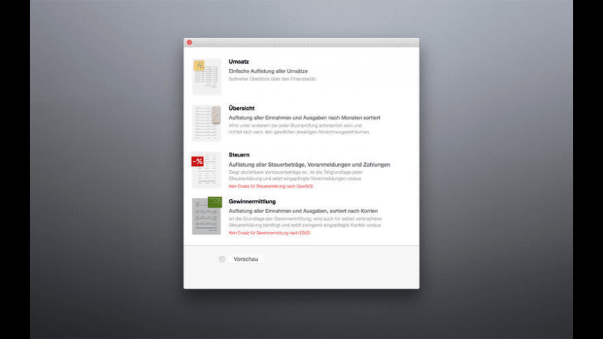 Umsatz Mikro 2015 for Mac - review, screenshots