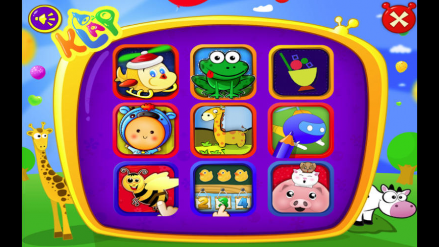 Kid's Literacy Games for Mac - review, screenshots