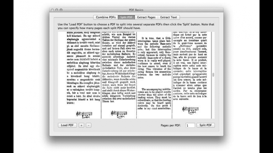 PDF Basics for Mac - review, screenshots