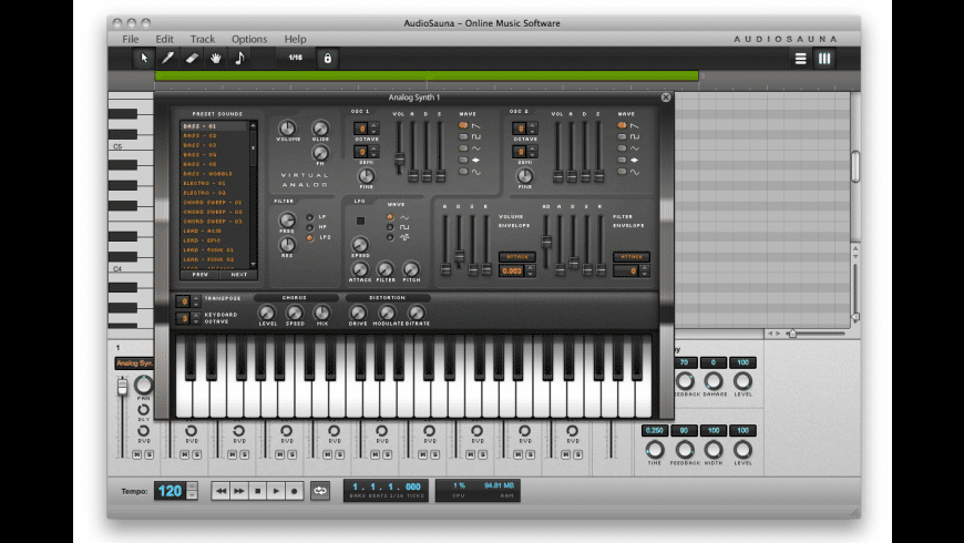 AudioSauna for Mac - review, screenshots