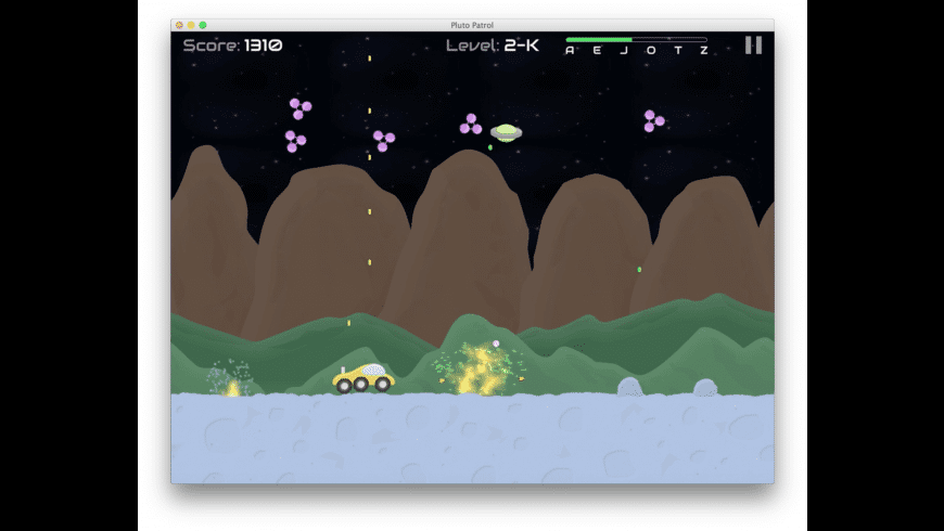 Pluto Patrol for Mac - review, screenshots