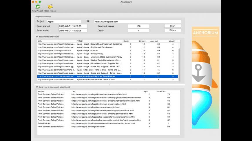 Anchorium for Mac - review, screenshots