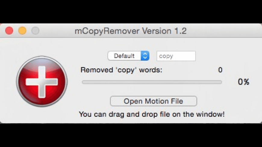 mCopyRemover for Mac - review, screenshots