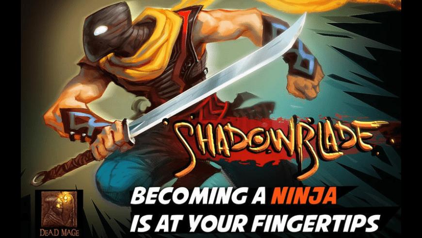 Shadow Blade for Mac - review, screenshots
