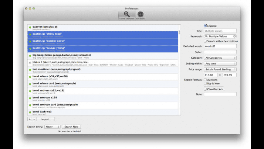Nuggets for Mac - review, screenshots