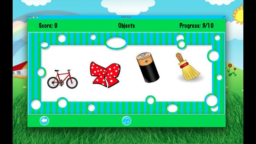 EDU Kids for Mac - review, screenshots