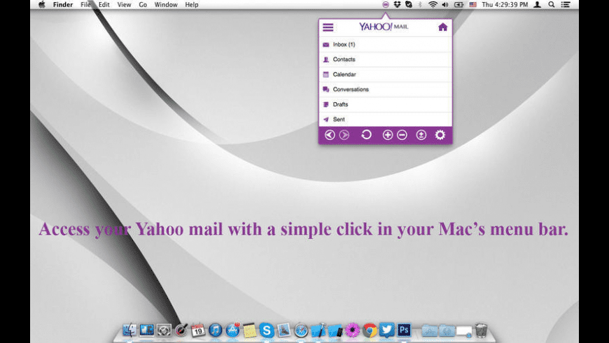 YMailTab for Mac - review, screenshots