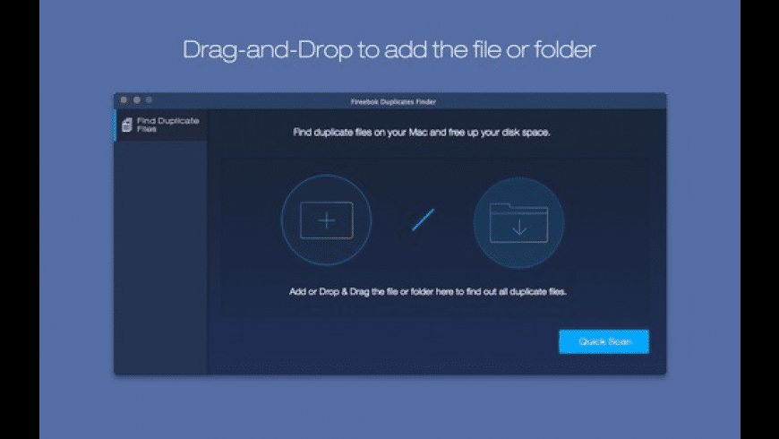Fireebok Duplicates Finder for Mac - review, screenshots