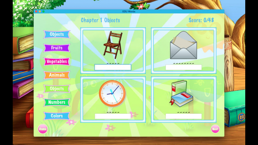 EDU Words for Mac - review, screenshots