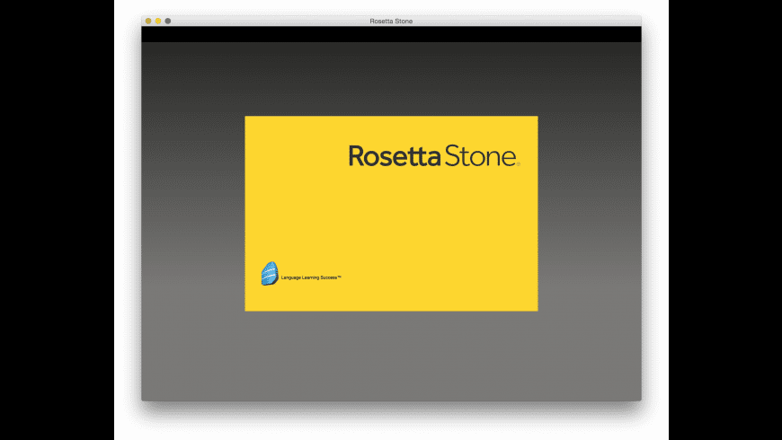 Rosetta Stone TOTALe for Mac - review, screenshots