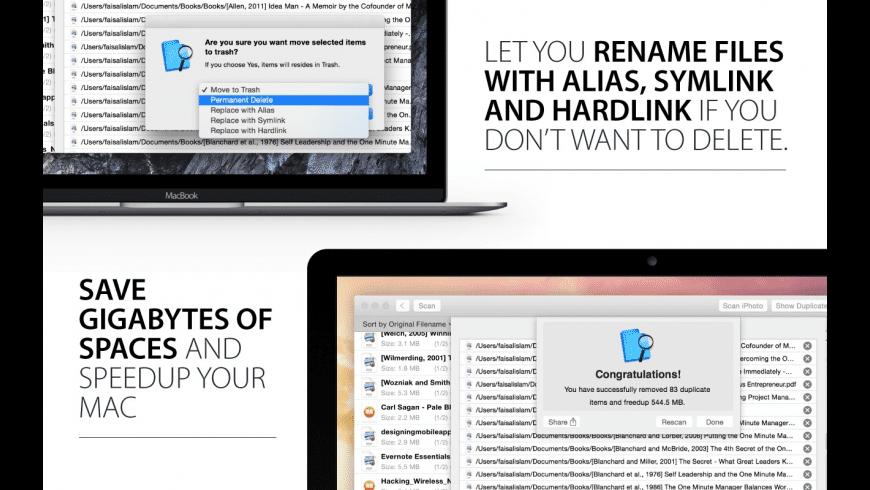 Duplicate Finder for Mac - review, screenshots