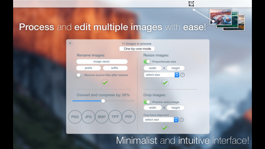 ImaPic for Mac - review, screenshots