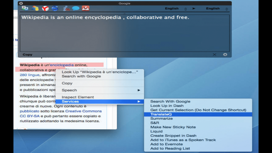 TranslateQ for Mac - review, screenshots