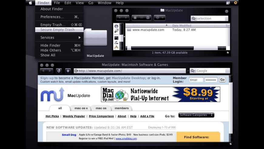 JetBlack for Mac - review, screenshots