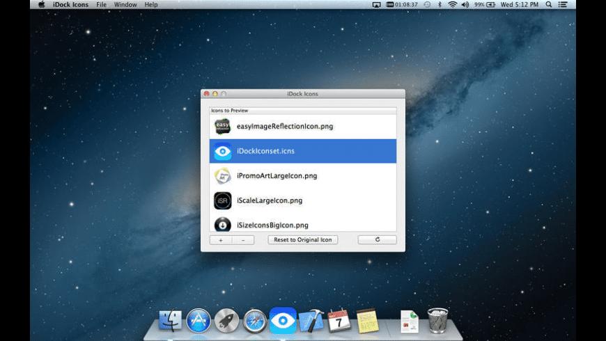 iDock Icons for Mac - review, screenshots
