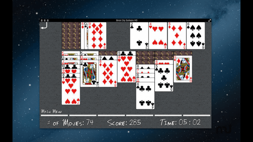 Brick City Solitaire for Mac - review, screenshots